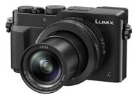 16.8MP LUMIX LX100 Integrated Leica DC Lens Camera with Advanced Controls in Black