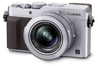 Panasonic DMC-LX100S 16.8MP LUMIX LX100 Integrated Leica DC Lens Camera with Advanced Controls in Silver