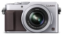 16.8MP LUMIX LX100 Integrated Leica DC Lens Camera with Advanced Controls in Silver