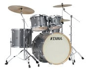 5 Piece Superstar Classic Maple Shell Kit in Galaxy Silver Finish
