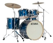 5 Piece Superstar Classic Maple Shell Pack in Indigo Sparkle Finish