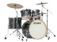 5 Piece Superstar Classic Maple Shell Pack in Midnight Gold Sparkle Finish