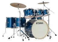 7 Piece Superstar Classic Maple Shell Pack in Indigo Sparkle Finish