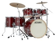 7 Piece Superstar Classic Maple Shell Pack in Classic Cherry Wine Lacquer Finish