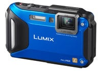 16.1MP LUMIX WiFi Enabled Tough Adventure Camera in Blue