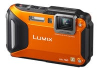 16.1MP LUMIX WiFi Enabled Tough Adventure Camera in Orange