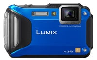 16.1MP LUMIX WiFi Enabled Tough Adventure Camera in Red