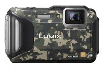 16.1MP LUMIX WiFi Enabled Tough Adventure Camera in Camouflage