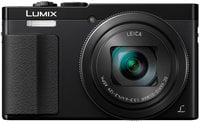 LUMIX 30x Travel Zoom Digital Camera with Eye Viewfinder and Black Trim