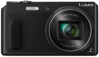 16MP LUMIX 20X Zoom Digital Camera in Black with Wink-Activated Selfie Feature