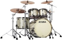 4 Piece Starclassic Bubinga Shell Pack in Champagne Sparkle Finish with Black Nickel Hardware