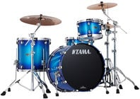 3 Piece Starclassic Performer B/B Shell Kit in Twilight Blue Burst