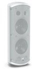 "Pair of Dual 5"" 120W 2-Way Weather Resistant Loudspeakers in White with 70/100V & Low Impeadance Operation"