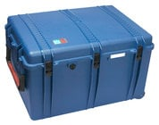 Porta-Brace PB-2850F  Wheeled Trunk-Style Hard Case Shell with Cubed Foam Interior