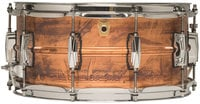 "Ludwig Drums LC663  6.5""x14"" Copper Phonic Snare Drum"