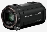 Panasonic HC-V770K 12.76MP HD Camcorder with Wireless Smartphone Twin Video Capture
