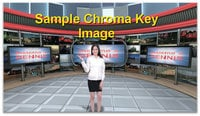 FOR-A Corporation HVS-2000EX 4 Channel Dual Advanced Chroma Keyers/4-Channel Color Corrector