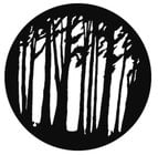 GAM G655 Steel Gobo - Medium Trees