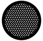 Steel Gobo - Diamond Grid