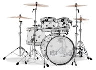 DW DDAC2215CL Design Series 5-Piece Clear Acrylic Shell Pack