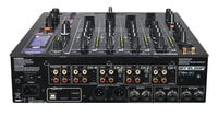 4-Channel DJ Mixer with Onboard Effects and USB Hub