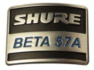 Shure 39F926  Nameplate for B57A