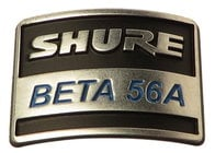 Shure 39G926  Nameplate for B56A