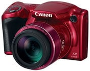 20MP Powershot SX410 IS Kit in RED