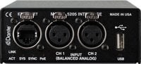 2 Channel Mic/Line Input to Dante Interface