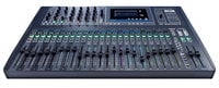 "Digital Mixing Console with 32 Mic/Line Inputs, 5"" Touchscreen, 32x32 USB Audio Interface, and 26 Motorized Faders"