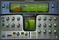 McDSP CHANNEL-G-COMPACT-HD Channel G Compact HD Multi-Function Channel Strip Plugin, AAX DSP/Native/AU/VST Version