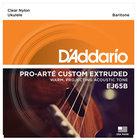 D`Addario EJ65B Pro-Arte Custom Extruded Baritone Ukulele Strings