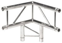Global Truss IB-4063V  1.64 Ft. 3 Way 90 Degree Vertical Corner I-Beam Truss