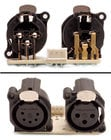 XLR Female PCB for ELED QW Strip