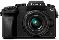 16MP LUMIX G7 Interchangeable Lens Camera Kit with 14-42mm Lens in Black