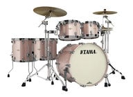 5 Piece Starclassic Bubinga Shell Pack in Pink Champagne Sparkle Finish