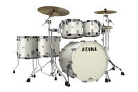 5 Piece Starclassic Bubinga Shell Pack in Satin Pearl White Finish
