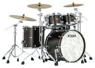4 Piece STAR Drum Walnut Shell Pack in Satin Black Walnut Finish
