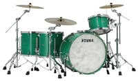 5 Piece STAR Drum Walnut Shell Pack in Mint Green Mist Finish