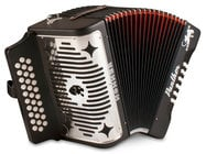 Hohner 3100GB Panther GCF Diatonic Accordion