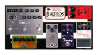 """Three-Rail 16"""" Wide Pedalboard with Soft Case"""
