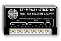 2-Channel, 24V Dual Microphone Phantom Adapter