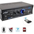 2x120W Power Amp, Mini Blue Series w/Bluetooth, USB Charging