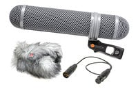 Rycote 010322 Super Shield Shotgun Microphone Windshield and Shock Mounting Kit, Large