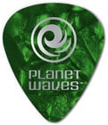 Planet Waves 1CAP4-10 10-Pack of Pearl Celluloid 70mm Medium Gauge Standard Shape Picks 1CAP4-10