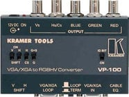 VGA/XGA to RGBHV Format Converter / Interface