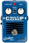 EBS MultiComp Guitar Edition True Dual Band Analog Compressor Guitar Pedal EBS-MC-GE