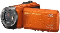 JVC GZ-R320D Quad Proof Everio Full HD Camcorder in Orange GZR320B/DUS