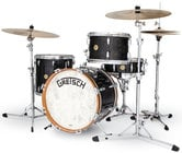 Gretsch BK-J483V-ASP Broadkaster Vintage 3-Piece Modern Bop Shell Pack in Anniversary Sparkle Finish
