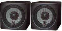"Pyle Pro PCB3BK  Pair of 3"", 100W Mini Cube Speakers, Black"